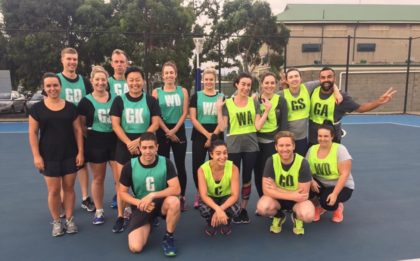 Wednesday Night Netball Melbourne Social Netball