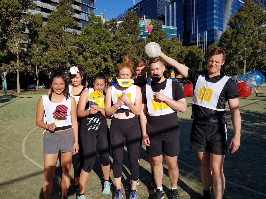 Melbourne Social Netball Netball Mixed Docklands