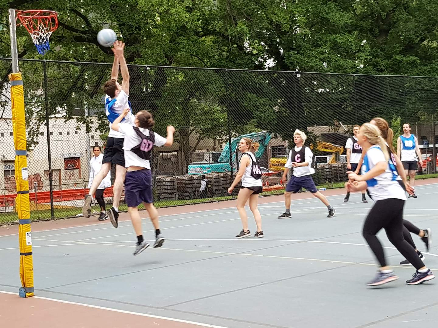 Melbourne Social Netball Tuesday Melbourne City