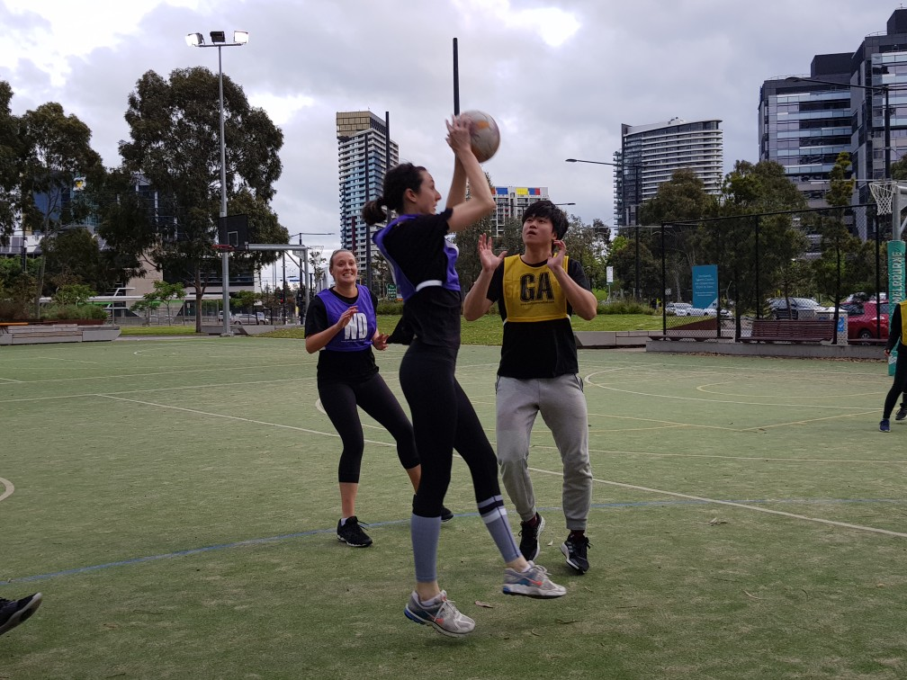 Docklands Wednesday Night Melbourne Netball