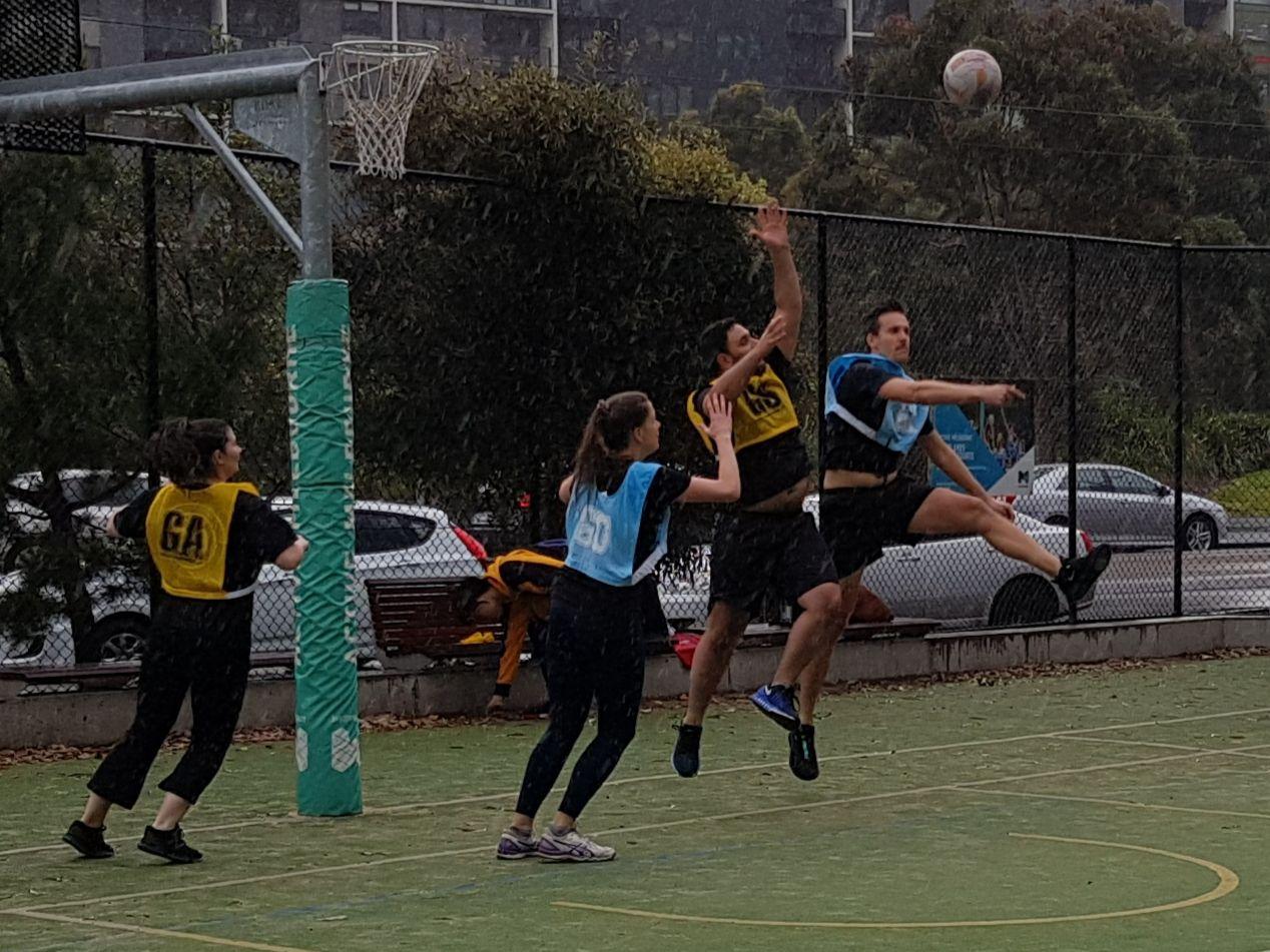 Social Netball Mixed Melbourne Social Netball